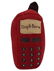 Dog iBone Mobile Phone Style Soft Plush Toy for Pets Dogs Cats