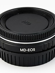 Minolta MD Lens To  Canon EOS Camera Adapter Ring / Corrective Glass / Infinity Focus