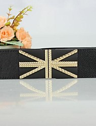 Women's Fashion Joker Britse Vlag Riem