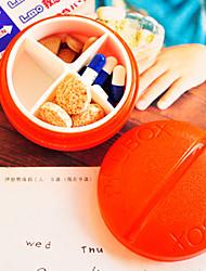 adorável e individualizada caso a medicina portátil (cor aleatória)