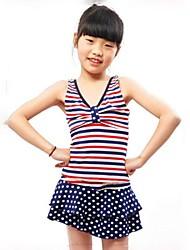 Girl's Spandex Swimwear , Summer Sleeveless