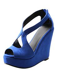 Suede Dress Wedge Heel Wedges Sandals(More Colors)