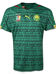 2014 World Cup World Cup Jerseys Cameroon Home Game Green