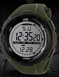 SKMEI® Men's Watch Sports LCD Digital  Chronograph Calendar Water Resistant Multifunction Cool Watch Unique Watch Fashion Watch