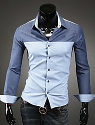 Men's Tops & Blouses , Cotton/Polyester Casual/Work URUN