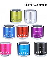 Salut-Fi Mini haut-parleur TF Amplificateur audio MP3 / 4 Radio FM Portable Speaker (sept couleurs en option)