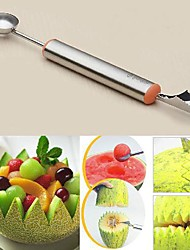 Multi-functional Melon Baller and Carving Tool for Fruit Platters