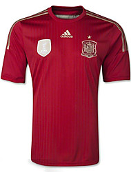2014 World Cup World Cup Jerseys Spain Home Game Red (Adizero)