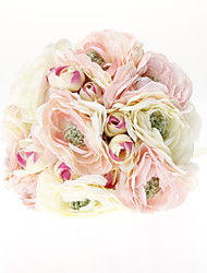 Belle ronde de mariée en satin Bouquet