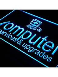 i326 Computer Services & Upgrades Repairs Light Sign