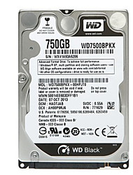 Western Digital WD7500BPKX SATA3 750G 2.5-inch for Notebook Internal Hard Disk Black Plate