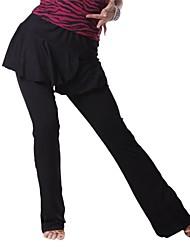 Mujeres Ropa de Baile Rayon Latin Dance Panty