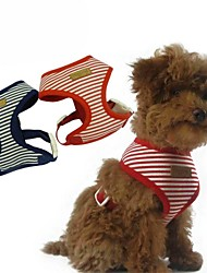 Dog Harness Red / Blue Sponge