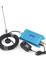 LCD Display CDMA 850Mhz Mobile Phone CDMA980 Signal Booster ,Signal Repeater + Indoor Antenna + Sucker Antenna with 10m Cable