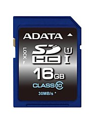 ADATA 16GB UHS-I U1 / Clase 10 SD/SDHC/SDXCMax Read Speed55 (MB/S)Max Write Speed33 (MB/S)