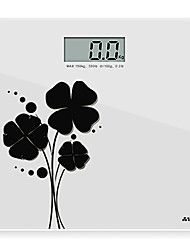 Super dünne Gesundheit Waage, Body Scale, BMI Body Fat Scale-h-520 (weiß)