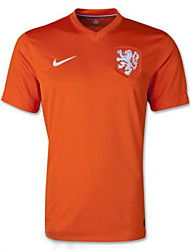 Men's SoccerJersey Short Sleeves Orange