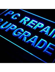i526 PC Repair & Upgrade Computer  Neon Light Sign