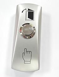 Bouton de sortie de la porte avec embase pour système de contrôle d'accès