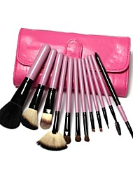 12 Makeup Brushes Set Others / Nylon / Pony / Synthetic Hair / Goat Hair / Horse Face / Lip / Eye