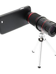 Увеличить 6-18X телефото Металл мобильного телефона объектива с треногой для Samsung S4