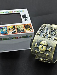 Death Note Crânio Símbolo Bracelet Cosplay Acessório