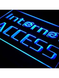 i214 OPEN Internet Access Services Neon Light Sign