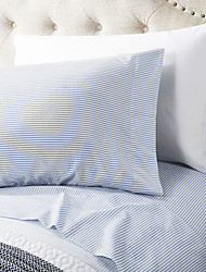"Sheet Set ,4-Piece microfibra Blue Light solido con 12 ""Pocket Profondità"