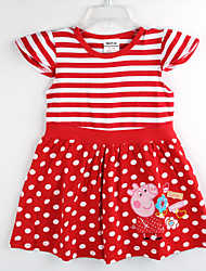 Kid's Dress , Cotton Casual Nova