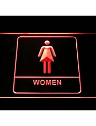 Women Female Girl Toilet Washroom Restroom Display Neon Light Sign
