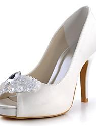 Zapatos de boda - Tacones - Tacones / Plataforma / Punta Abierta - Boda / Fiesta y Noche -Negro / Azul / Rosa / Morado / Rojo / Marfil /