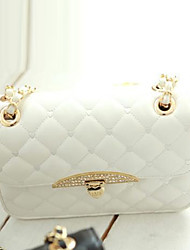 Feng Liang Vrouwen Koreaanse Style Retro Boor Agrafe Chain Bag (White)