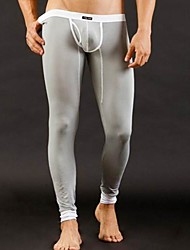Men's Gray Fashion Long Johns