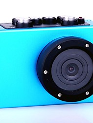 HD1080P - F35BL  Wide Angle High Definition Mini Waterproof Sports Camera - Blue