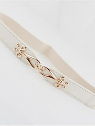 Women Waist Belt , Casual Leather