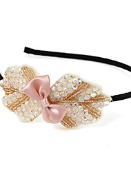 Women's Black Noble  Butterfly Pattern Elastic Hair Band(Assorted colors)