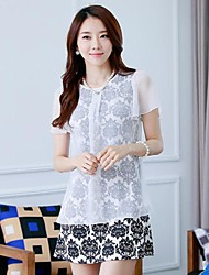 Women's Casual Dress Mini Chiffon