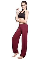 Dancewear Damen Viskose mit Gürtel Gezeichnet Praxis / Bottom Yoga für Damen (weitere Farben)