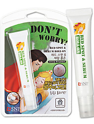 [SNP Cosmetic] Don't Worry Red Spot & Serum Roll-on with Massage Applicator (Scar & Blemish Care Stick) 20g