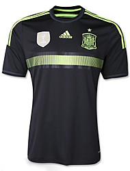 2014 World Cup World Cup Jerseys Spain Visiting Game Black (Climacool)
