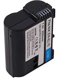 Digital Video Battery Replace Nikon EN-EL15 for Nikon D7000,D800 and More (7v, 2550 mAh)