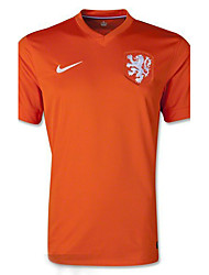 2014 World Cup World Cup Jerseys Netherlands Home Game Orange (Fans)