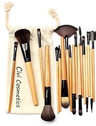 Professional Makeup Brushes Set 18 Pcs Makeup Brushes & Tools with Drawstring Bag
