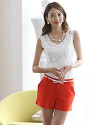 Aclover Women's Sleeveless Vests (Cotton Blend)