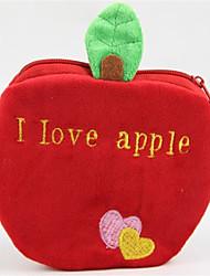 Creative Red Apple Design Change Purse