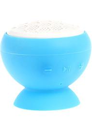 V12 Suction Cup Mount Mini Bluetooth V3.0+EDR Speaker (Blue&White)