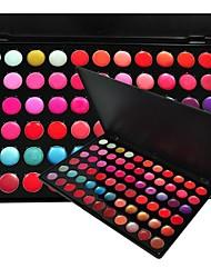 Professional 66 Color Lip Gloss Lipstick Makeup Cosmetic Palette 837
