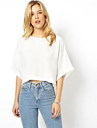 Le modèle creux de court type queue d'aronde shirt Laurel femmes (écran couleur)