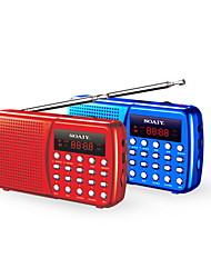 Soaiy s-90 mini portátil de altavoces Soporte TF / FM
