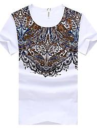 ruilike®en nehmen runden Kragen Kurzarm-T-Shirt